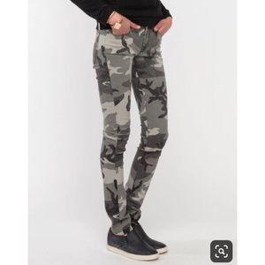 Baldwin gray camo skinny jeans - size 25